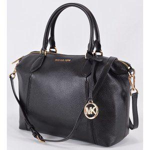 Michael Kors Textured Leather LENOX Crossbody Bag